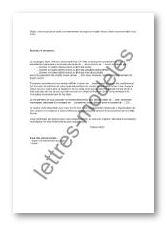 exemple lettre demande de rencontre