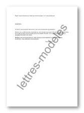 Modele Et Exemple De Lettres Type Remerciements Pour Lettre De