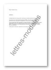 Exemple Resiliation Bail Modele De Courrier Pour Resilier Un Contrat