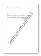 Modele Et Exemple De Lettres Type Rupture Au Cours De La Periode D