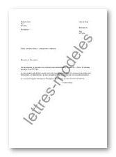 Exemple Lettre Changement D Adresse