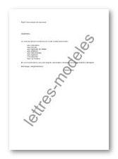 Modele Et Exemple De Lettres Type Transmission De Document