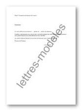 Modèle Et Exemple De Lettres Type Changement D Adresse De