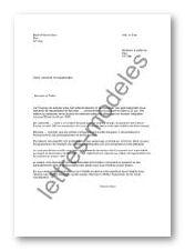 Modèle Et Exemple De Lettres Type Demande De