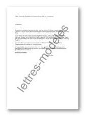 Modele Et Exemple De Lettres Type Demande Installation Haut Debit