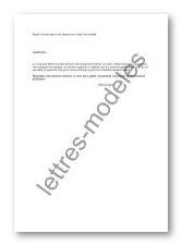 Modèle Et Exemple De Lettres Type Excuses Pour Une Absence