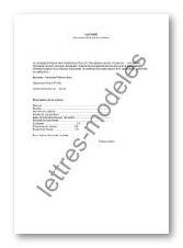 Modele Et Exemple De Lettres Type Facture De Vente De Voiture