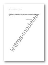 Modèle Et Exemple De Lettres Type Justificatif D Absence D
