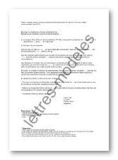 Modele Et Exemple De Lettres Type Recours Devant Tribunal