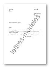 Modèle et exemple de lettres type : Renouvellement d'ordonnance